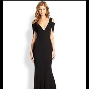 ABS Black Tie dress